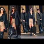 "Priyanka Chopra and Nick Jonas Looks So Stunning by wearing ""Diesel"" at NYC"