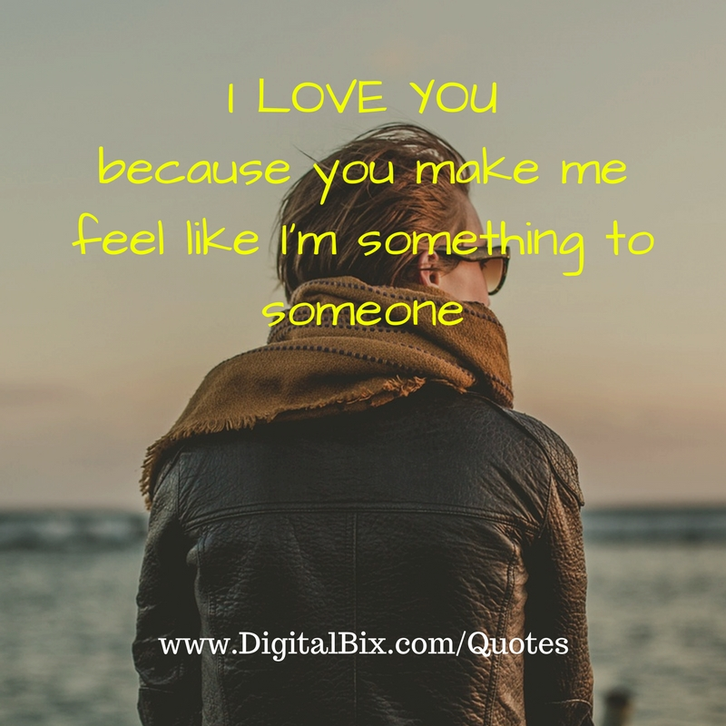 I Love You Because Quotes: Love Quotes For Her